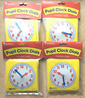 Clock Dials, 4 Sets of 10, Learning Resources LER0112