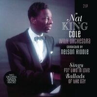 NAT KING COLE - SINGS FOR TWO IN LOVE/BALLADS OF THE DAY  2 VINYL LP NEU