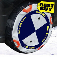 Snow Socks, quick fit size B fits tyre size 155/65 15, 165/70 14, 175/65 14....