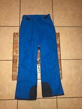 Womens ARTIX Brand 3k Ski Snow Winter Nylon Insulated Pants Blue Size SMALL