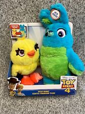 Disney Pixar Toy Story 4 Ducky-Bunny Scented Friendship Plushies NEW