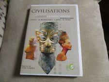 """DVD """"CIVILISATIONS, 4 GRANDES CULTURES : EGYPTE, MESOPOTAMIE, INDUS, CHINE"""""""