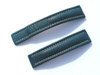 20mm Breitling Band 151X 20/18 Kalb blau blue Strap für Faltschliesse 048-20