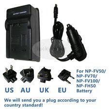 Caricabatteria PER SONY Handycam DCR-DVD106E DCR-DVD404 DCR-HC51E DCR-HC53E fotocamera