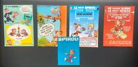 Lot de divers documents publicitaires Spirou FRANQUIN