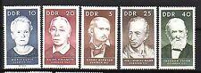 DDR Nr.  1293-97  ** Berühmte Personen