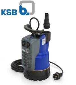 KSB Ama Drainer 301 Schmutzwasserpumpe Tauchpumpe + integriertem Schwimmschalter