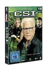 CSI: LAS VEGAS-SEASON 15 ELISABETH SHUE/ROBERT DAVID HALL/+   6 DVD NEU