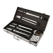 Kuhn Rikon 5pcs Stainless Steel BBQ Tool Utensil Set with Case