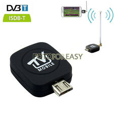 DVB-T ISDB-T Micro USB Tuner Mobile TV Receiver Stick Android Tablet Pad Phone
