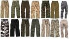Vintage Military Paratrooper Pants BDU Tactical Combat Army Fatigue Cargo Pants