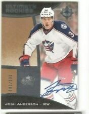 2015-16 Upper Deck Ultimate Collection Rookie Auto Josh Anderson #68 /299