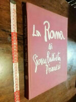 LIBRO LA ROMA DI GIOVAN BATTISTA PIRANESI-P G.MASSANI E G. UCCI-1973