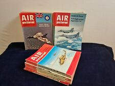 Joblot Air Pictorial Magazine 1970s x 55 copies 1970 - 1983 collectible VGC RAF