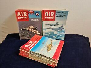 Air Pictorial Magazine vintage joblot 1970s 80s x 55 copies collectable aviation