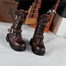 1/4 BJD Shoes MSD Dollfie DREAM Brown PUNK Boots Shoes MID DOD SOOM AOD EID LUTS