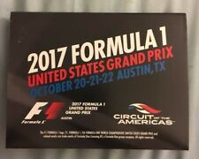 Formula 1 2017, United States Grand Prix Program Pamphlet, Austin, TX
