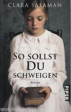 *y~ So sollst DU schweigen - Clara SALAMAN  tb  (2010)