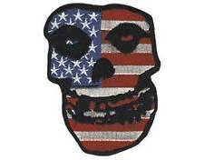 Officiel sous Licence - Misfits - Drapeau USA Skull Fer sur / Patch à Coudre