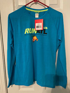 Women's The North Face Run ATL Big Peach Running Company t-shirt size medium