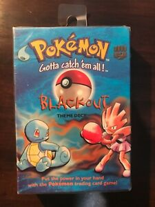 Wizards of the Coast Pokemon BLACKOUT Theme Deck-Factory Sealed