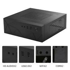 JX01 SECC Mini ITX HTPC Chassis Game Computer Case Box Desktop PC Enclosure