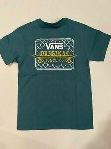 Vans New Van Doren Fence T-Shirt Youth Boy's Size 5/M