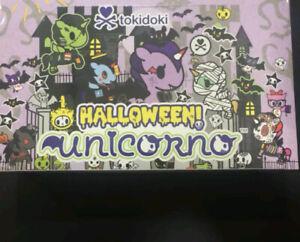 Tokidoki Unicorno Halloween Series Blind Box Whole Case 12 Pcs May Have Chaser