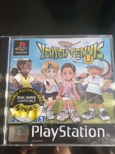 Yeh Yeh Tennis YehYeh Manual Playstation One 1 PSOne PS1  Black Label,  manual