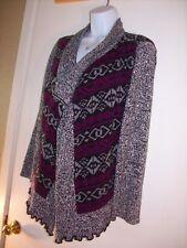 Womens sweater wrap Bolero shrug Black Purple Gray Petite Extra Large Style & Co