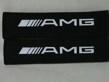 NEW Seat belt Soft Pads Cover Embroidery Mercedes-Benz AMG Logo