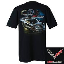 C7 Z06 Corvette Race Proven Technology Black T-Shirt