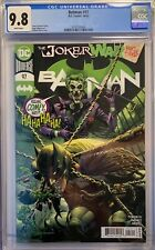 BATMAN #97 (2020) CGC 9.8 NM/MT JOKER WAR PART THREE JIMENEZ DC COMICS