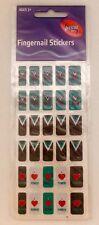 Port Adelaide Power Fingernail Stickers - AFL Merchandise - Brand New