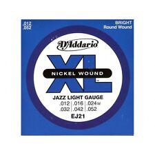 D'addario Jazz Light 12-52 EJ-21, I7-