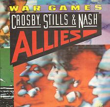 "CROSBY, STILLS & NASH – War Games (1983 VINYL SINGLE 7"" GERMAN PS)"