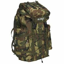 Military Camouflage Hiking Back Pack Large Size with Waiste strap