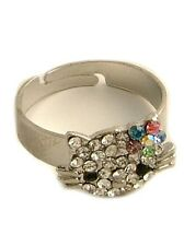 Hello Kitty Silver Ring - Quick Delivery