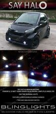 2008-2015 Smart Fortwo Halo Fog Lamp Driving Light Kit Angel Eyes Pair w164 w204