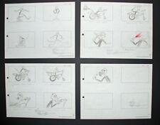 Signed Friz Freleng Pink Panther Storyboard Set 4, 1967
