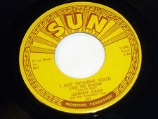Johnny Cash: Just Thought You'd Like to Know / It's About Time [VG++Copy]