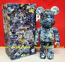 Medicom 2016 Be@rbrick Jackson Pollock Studio 400% GETTO BEARBRICK 1pc