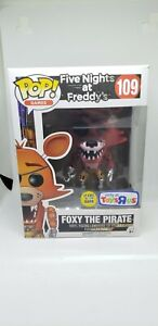 Foxy The Pirate #109 Funko Pop Toys R Us Exclusive GITD Five Nights at Freddy's