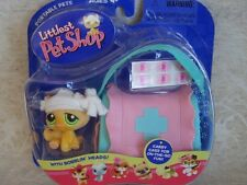 Littlest Pet Shop 2005 BOO BOO KITTY CAT Pink Blue Medical Case lot #94 Rare NIB