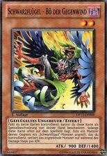 Yu-Gi-Oh!  DP11-DE009 Schwarzflügel - Bö der Gegenwind   1. Auflage