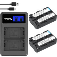 NP-FM500h Battery + charger for Sony Alpha A57 A77 A99 A65 A100 A200 A900 A300