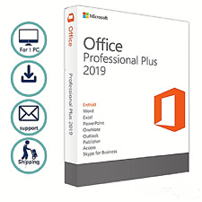 Microsoft Office Ms Office 2019 Professional Plus Dvd 1 Pc