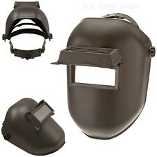Welding Helmet Mask Pro Solar Flip Darkening Lens Welder Grinding Hood