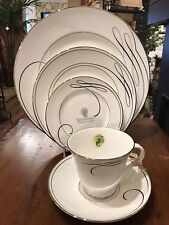 Waterford Ballet Ribbon 5 Piece Place Setting New In Box