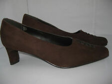 K By Clarks Womens Brown Leather/Suede Court Shoes/Heels Size UK 5